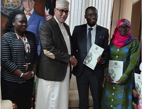 CABINET SECRETARY HON. NAJIB BALALA RECEIVES REPORT OF THE CONSUMPTIVE WILDLIFE UTILIZATION TASK FORCE