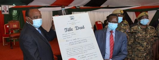 NAIROBI NATIONAL PARK ACQUIRES TITLE DEED FOR 2000 ACRES