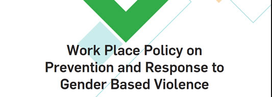 Work Place Policy on Prevention and Response to Gender Based Violence